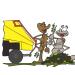 Opération broyage de déchets verts – Quartier Hauts Pavés – Saint Félix