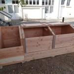 Composteur modulaire de 2 X 2.5 m3 (Pour 50 foyers)