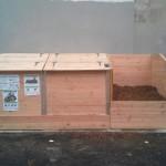 Composteur modulaire (2 X 1 m3) - Pour 25 foyers environs
