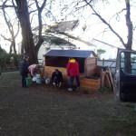 Pavillon de compostage de 10 m3
