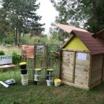 Le premier prototype de pavillon de compostage de Maison Radieuse à Rezé